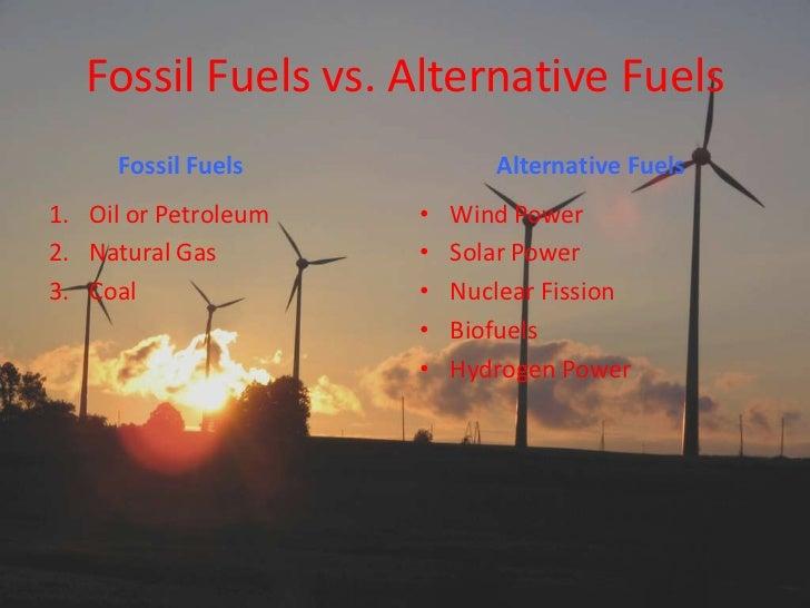 Petroleum vs renewable energy alternatives