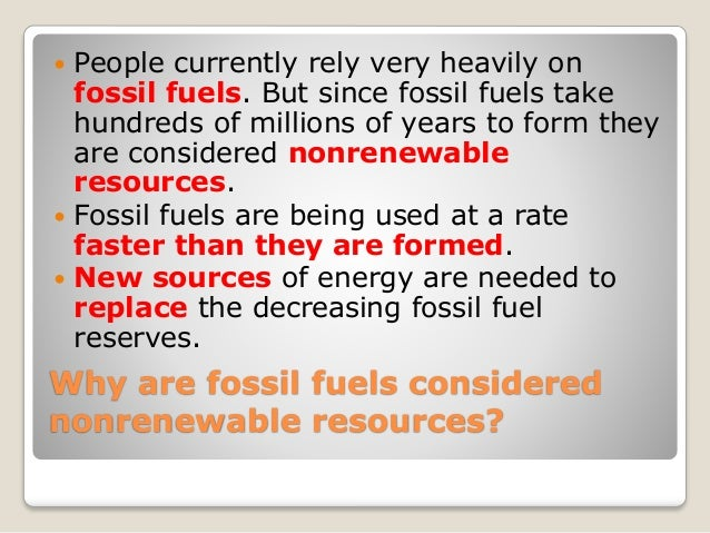 decreasing fossil fuels Decreasing fossil fuels over the past century america has continuously used its own fossil fuel resources and paid handsomely for additional supplies, in the race to stay current with modern technology and life the possession of this resource has made the united states a very prosperous and powerful nation.