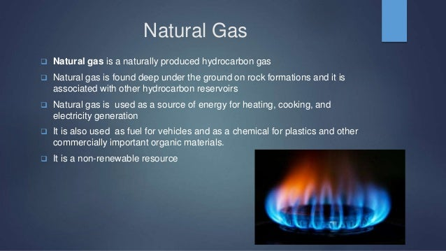Is Natural Gas A Renewable Natural Resource