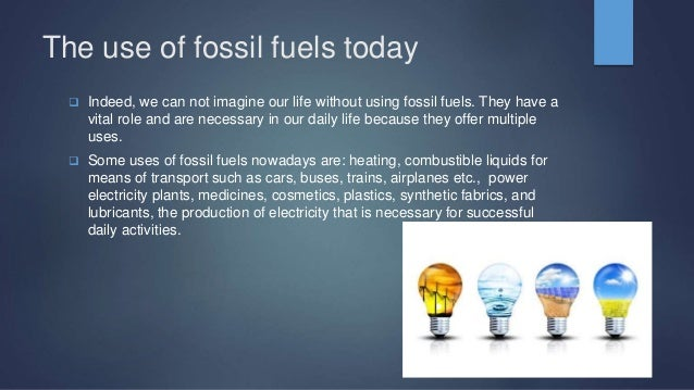 Fossil Fuels Technology Environment By Eleana Dimopoulou