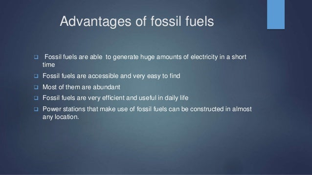 Off Fossil Fuels