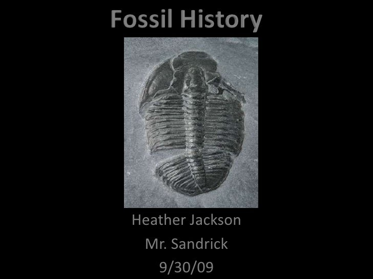 Fossil History<br />Heather Jackson<br />Mr. Sandrick<br />9/30/09<br />