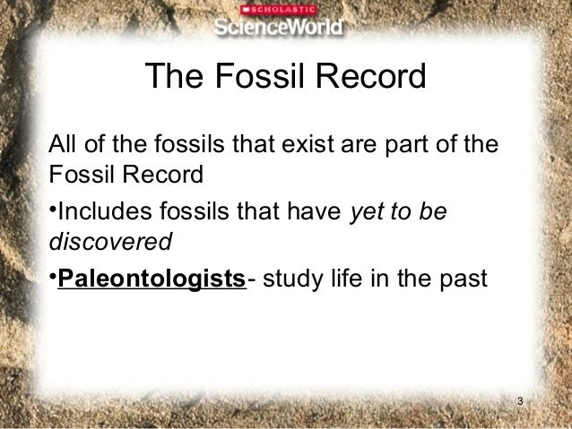 Questions1. What types of organisms existed in the   past?2. What did the oceans look like over   different time periods?3...