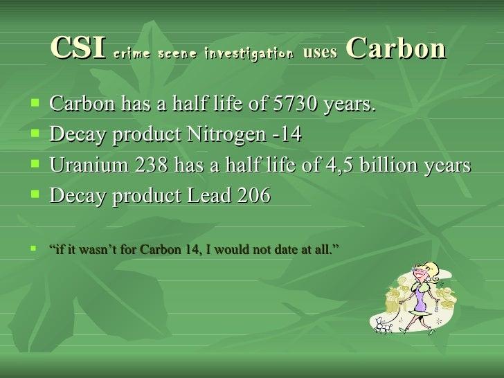csi carbon dating