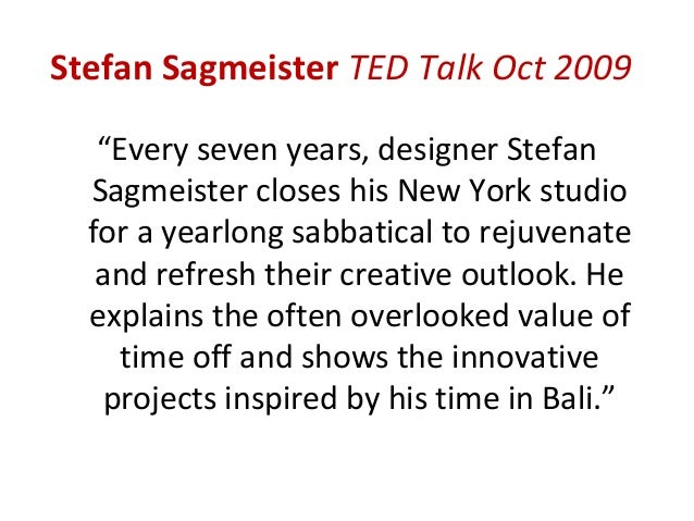 """Sir Ken Robinson TED Talk June 2006• """"Creativity is as important in education as  literacy and we should treat it with the..."""