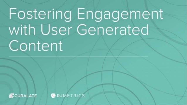 User Generated Content: The Basics