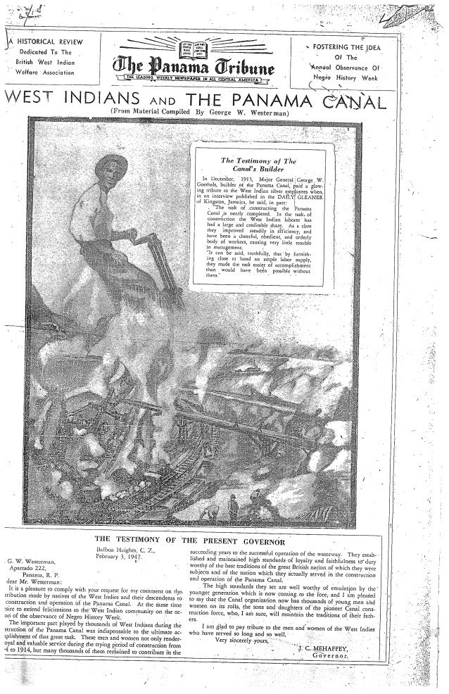 Panama Tribune West Indian History Review March 2, 1947