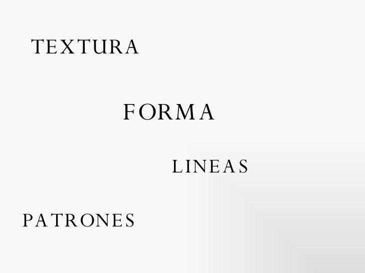 TEXTURA FORMA PATRONES LINEAS