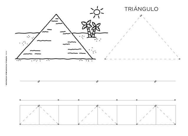 Dibujo De Triángulo Para Pintar Dibujos Para Colorear
