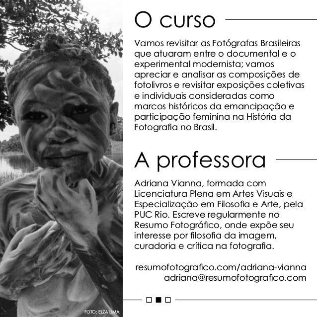 Fotógrafas Brasileiras Slide 2