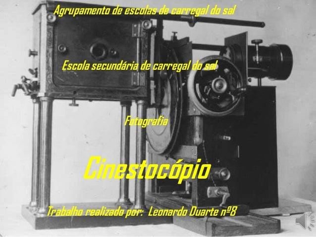 Agrupamento de escolas de carregal do sal Escola secundária de carregal do sal Fotografia Trabalho realizado por: Leonardo...