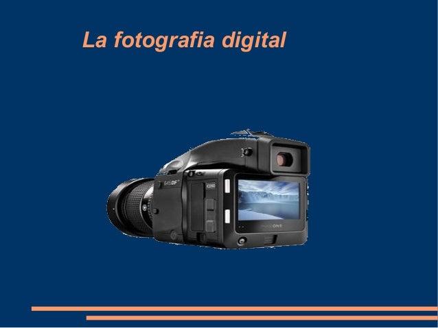 La fotografia digital