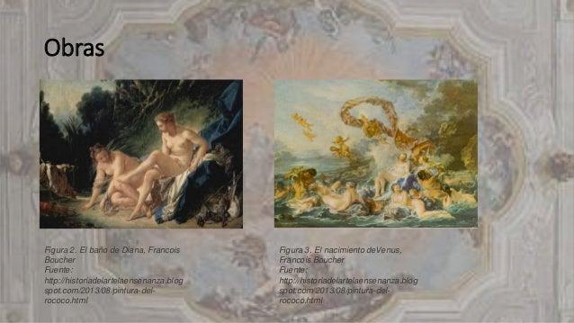 Boucher El Bano De Diana.El Arte Rococo 1730 1760