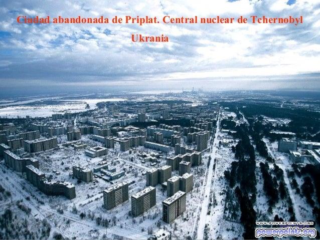 Ciudad abandonada de Priplat. Central nuclear de Tchernobyl Ukrania