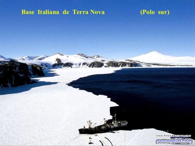 Base Italiana de Terra Nova  (Polo sur)