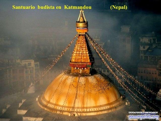 Santuario budista en Katmandou  (Nepal)