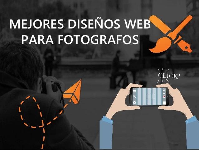 MEJORES DISEÑOS WEB  PARA FOTOGRAFOS