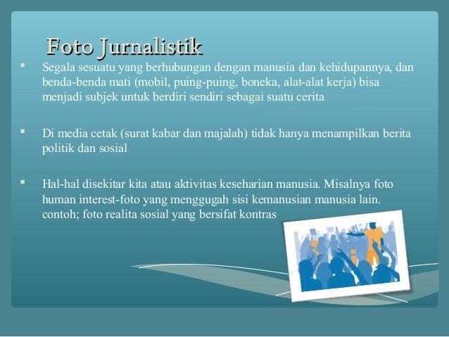 Foto jurnalistik di media cetak Slide 2