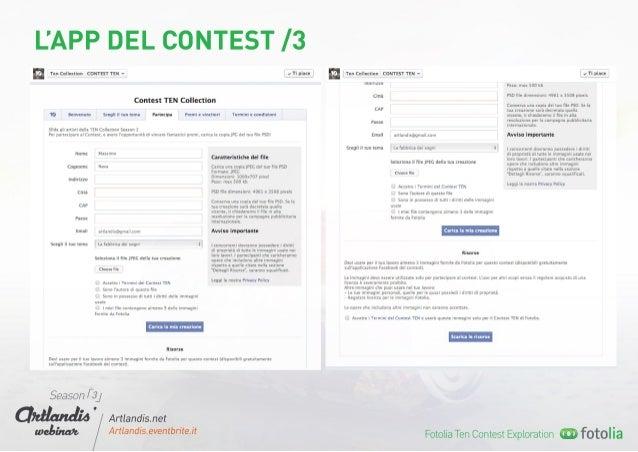 Fotolia Ten Collection Contest Exploration