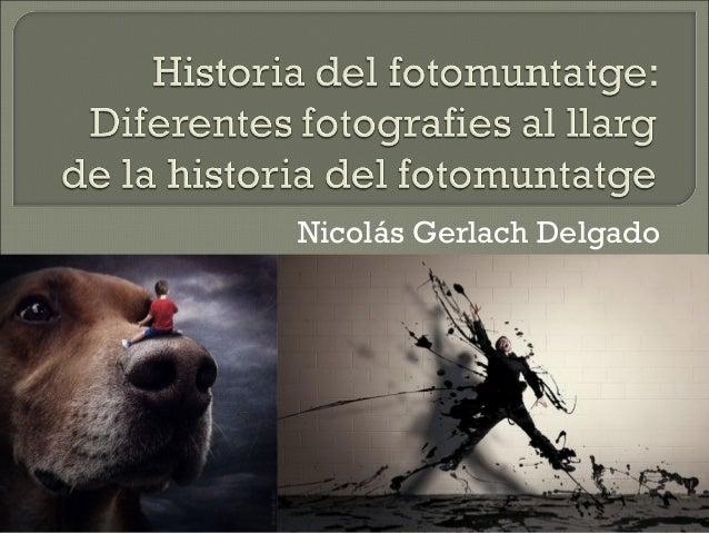 Nicolás Gerlach Delgado
