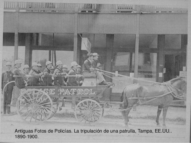 Antiguas Fotos de Policías. La tripulación de una patrulla, Tampa, EE.UU..  1890-1900.