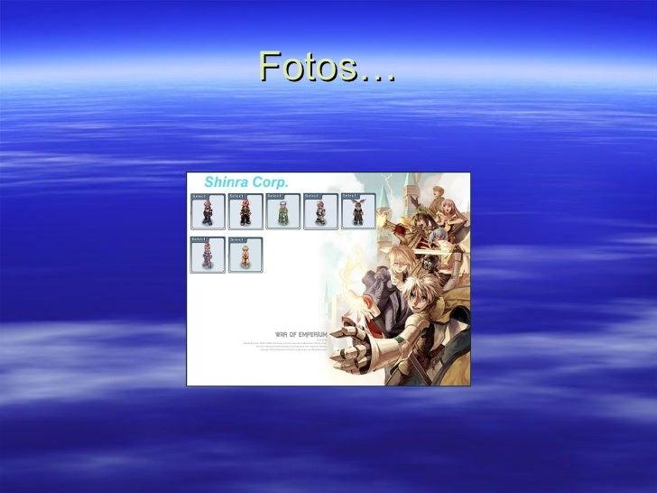 Fotos…