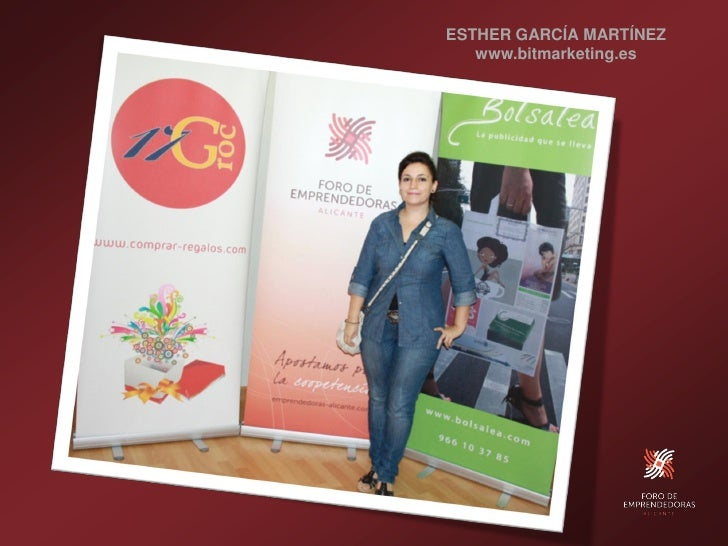 ESTHER GARCÍA MARTÍNEZ    www.bitmarketing.es