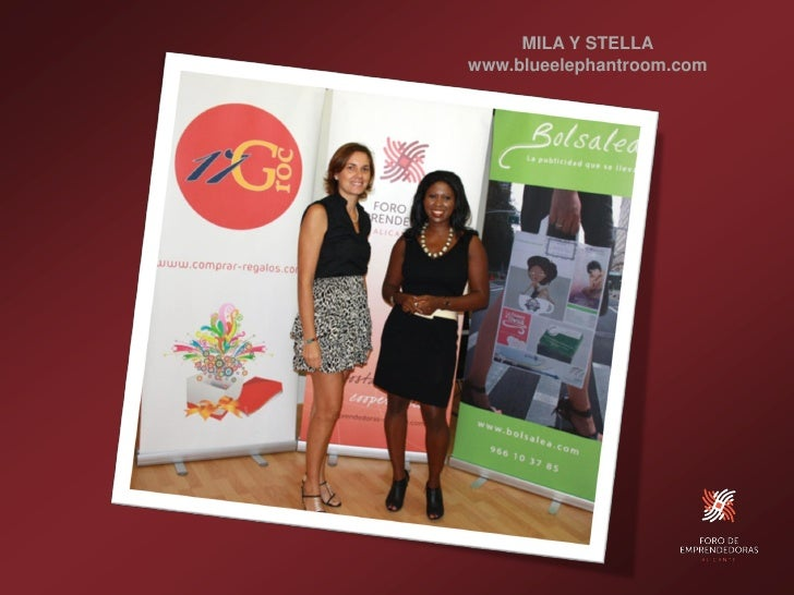 MILA Y STELLA www.blueelephantroom.com