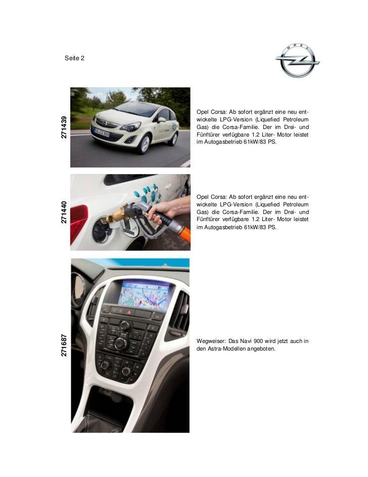 Seite 2             Opel Corsa: Ab sofort ergänzt eine neu ent-271439             wickelte LPG-Version (Liquefied Petroleu...