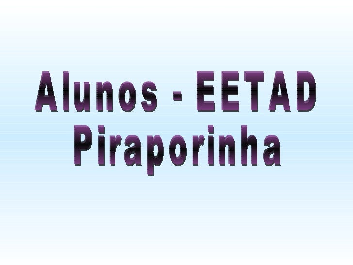 EETAD Piraporinha