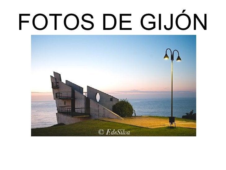 FOTOS DE GIJÓN