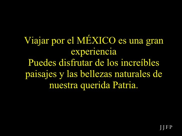 Viajar por el MÉXICO es una gran experiencia Puedes disfrutar de los increíbles paisajes y las bellezas naturales de nuest...