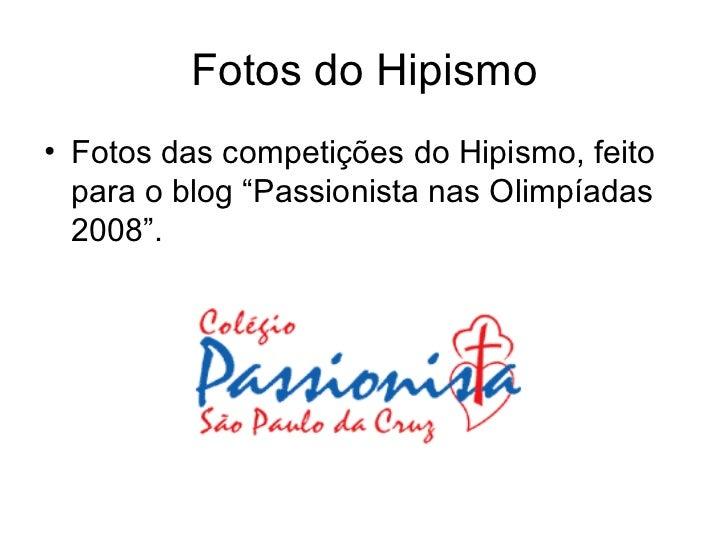 """Fotos do Hipismo <ul><li>Fotos das competições do Hipismo, feito para o blog """"Passionista nas Olimpíadas 2008"""". </li></ul>"""