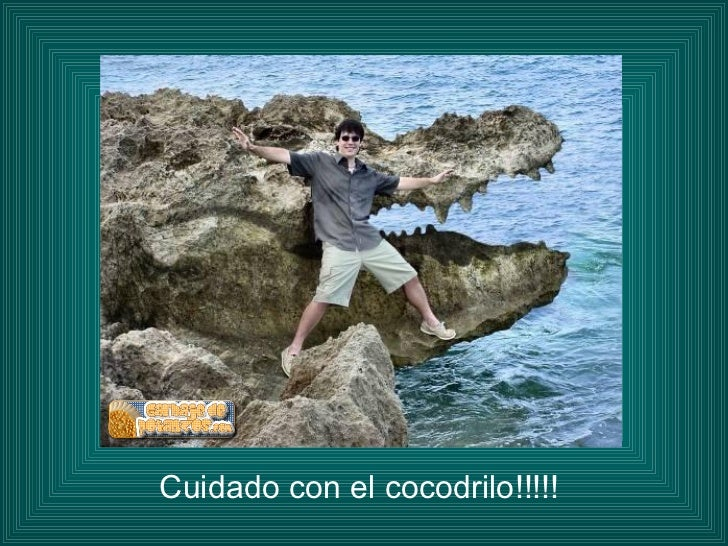 <ul><li>Cuidado con el cocodrilo!!!!! </li></ul>