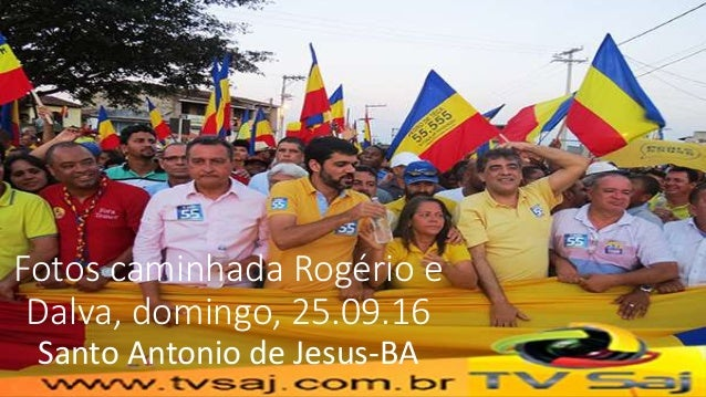 Fotos caminhada Rogério e Dalva, domingo, 25.09.16 Santo Antonio de Jesus-BA