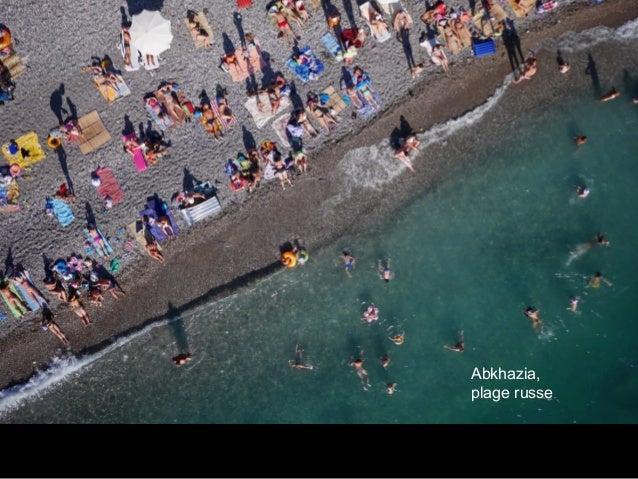 Abkhazia, plage russe