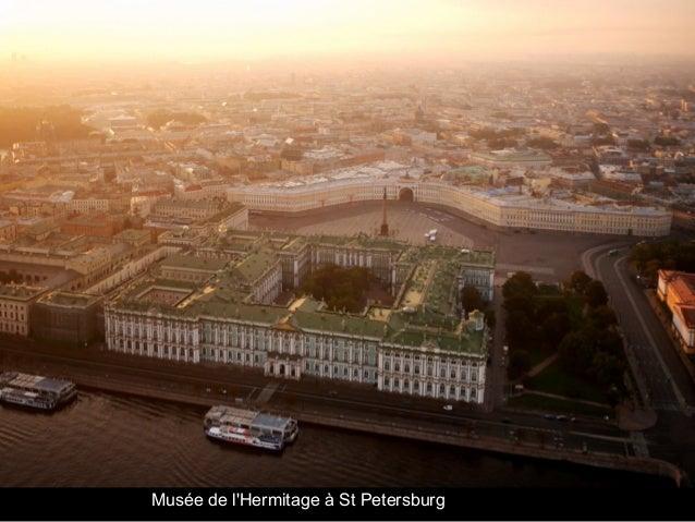Musée de l'Hermitage à St Petersburg
