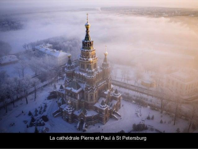 La cathédrale Pierre et Paul à St Petersburg