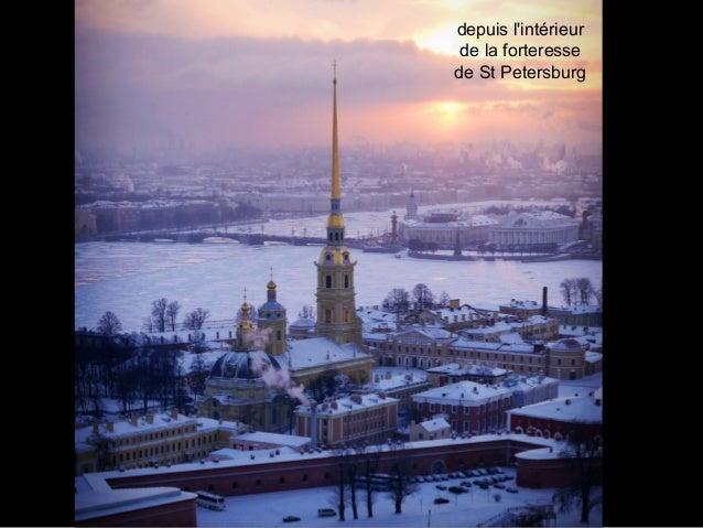 depuis l'intérieur de la forteresse de St Petersburg