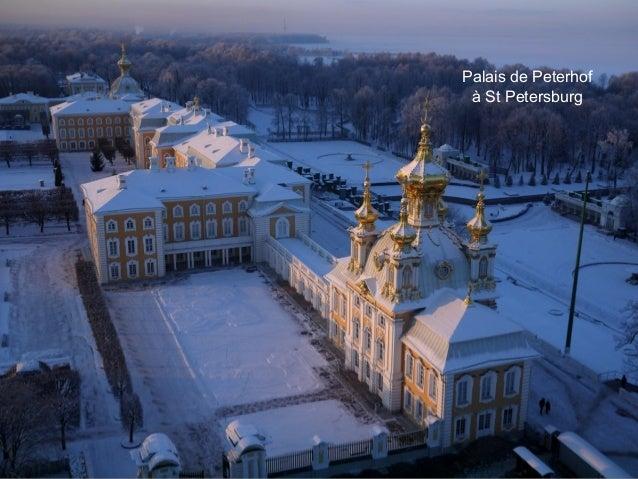 Palais de Peterhof à St Petersburg