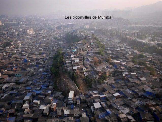 Les bidonvilles de Mumbaï