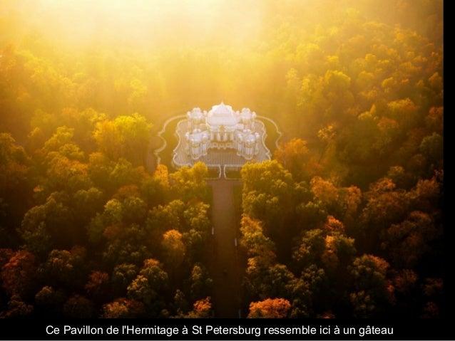 Ce Pavillon de l'Hermitage à St Petersburg ressemble ici à un gâteau