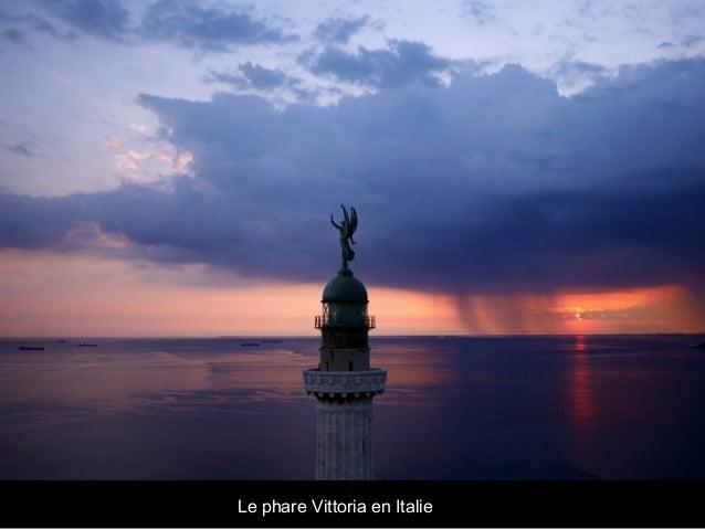 Le phare Vittoria en Italie