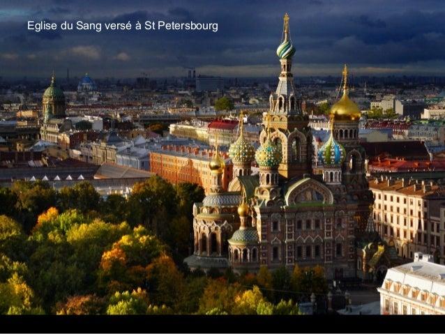 Eglise du Sang versé à St Petersbourg