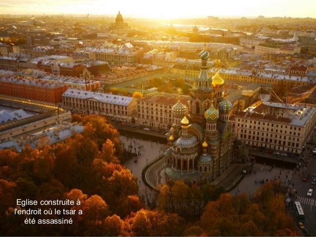 Eglise construite à l'endroit où le tsar a été assassiné