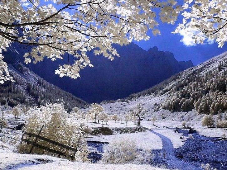 Fotos de invierno en las monta as for Imagenes de patios de invierno