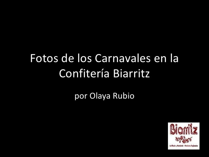 Fotos de los Carnavales en la Confitería Biarritz<br />por Olaya Rubio<br />