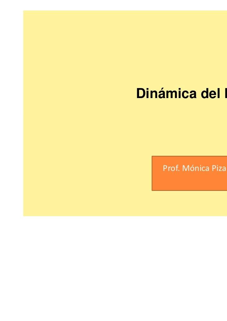 Dinámica del Paisaje.                         2011    Prof. Mónica Pizarro Ducuing
