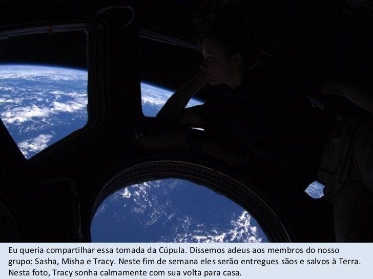 O Módulo Unión 23C Olympus emparelhado com a ISS. Quando nosso trabalho terminar aqui, retornaremos à nossa casa na Terra....