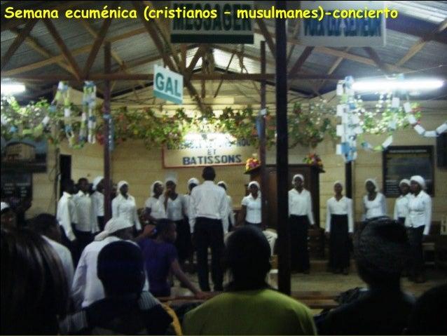 Semana ecuménica (cristianos – musulmanes)-concierto